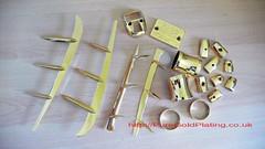 Lambretta Parts Gold (PureGoldPlating) Tags: goldplated goldplating goldscooterparts goldplatedlambretta goldplatedvespa