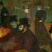 Toulouse-Lautrec, At the Moulin Rouge with detail of faces