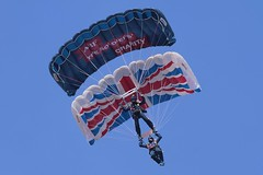 Tigers Free Fall Display Team (IPAirshowPhoto) Tags: show air southport 2012