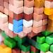 Pixel Art 3D Fimo 09