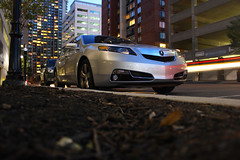2012 Acura TL SH-AWD (JeremyHendler) Tags: city car canon honda silver eos rebel long exposure tl fast newport fancy jersey expensive luxury acura t2i shawd