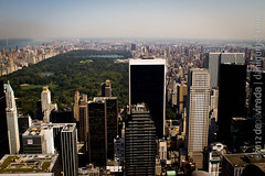 "View from the Top of The Rock. New York, NY, USA. • <a style=""font-size:0.8em;"" href=""http://www.flickr.com/photos/35947960@N00/8000432009/"" target=""_blank"">View on Flickr</a>"