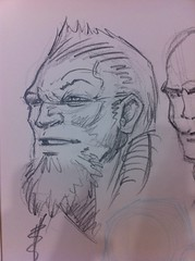 Class demo Quicksketch (dillardma) Tags: sketch drawing character comicbook graphite quicksketch characterdesign conceptdrawing