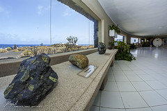 Jameos del Agua, museum (Jordi Pay Canals) Tags: sea tourism window museum canon landscape eos volcano lava islands spain agua lanzarote canals fisheye canary geology jordi 8mm olivine csar manrique jameos speedlite hara solidified samyang vulcanology 450d 430exii pay