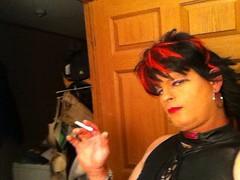 Love to smoke (Misscandisbitch) Tags: fetish slut crossdressing smoking bitch whore crossdresser 120s cumwhore