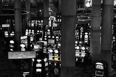 The lucky slot (reflexbeginner) Tags: sanfrancisco nyc bw usa newyork nature america landscape nationalpark nikon honeymoon unitedstates nikkor viaggiodinozze statiuniti d90 wonderfulview