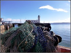 Fishing Nets .. (* Janets Photos *) Tags: uk lighthouse piers yorkshire scarborough nets harbours takenwithlove mindigtopponalwaysontop lovelyflickr theinspirationgroup