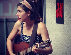 Singing for Supper in PDX (Luv Duck - Thanks for 15M Views!) Tags: girls girl portland with guitars portlandia streetperformer pdx singingonthestreets