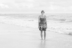 The Last Night (12Jeepgirl~Never look back...) Tags: travel vacation bw beach water blackwhite nikon gulf florida ami holmesbeach annamariaisland d700 mygearandme