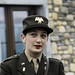 Belgique - Bihain (Vielsalm) - Inauguration du musée de la 83rd Infantry Division (United States) - Auxiliaire féminine (officier)