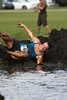 Proper form (taddzilla) Tags: water race sunrise mud florida running dirty dirt athlete muck allrightsreserved 2012 rollingin markhampark muddogs5k