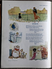 "Pears Annual 1925 - ""Dinkie"" illustrated by E H Shepard (mikeyashworth) Tags: illustration graphicart advertising 1925 commercialart ehshepard leverbrothers pearssoap dinkie sunengraving pearsannual mikeashworthcollection"