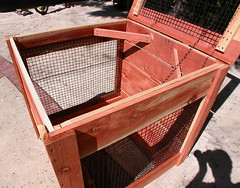 "1-Bin Redwood Compost Bin - interior • <a style=""font-size:0.8em;"" href=""https://www.flickr.com/photos/87478652@N08/8049149687/"" target=""_blank"">View on Flickr</a>"