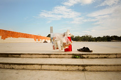 Break (BatulTheGreat) Tags: street film analog break prayer streetphotography ez fujifilm das dhaka analogue fujicolor200 yashica bangladesh c200 fujicolor arka yashicaez