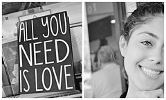 All you need is l o v e. (trusimplicity) Tags: love smile notebook sister
