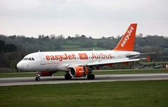 Photo of G-EZBR Airbus A.319-111, easyJet, Lulsgate, 7 April 2012