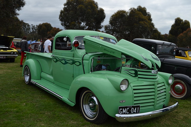 flamed worldcars 1941gmcpickup cranksterscruisenagambie2012