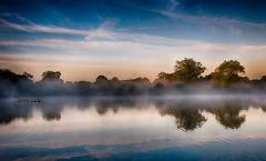 281/366 Sunrise over Hatfield Forest Lake (Mark Seton) Tags: mist lake sunrise dawn photo mr places photograph essex dailyphoto pictureaday hatfieldforest digitalcameraclub dailyphotograph uttlesford project365281 project365071012