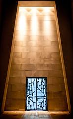 Dramatic door (campra) Tags: door canada church joseph montreal du montroyal oratory oratoire trapezoid