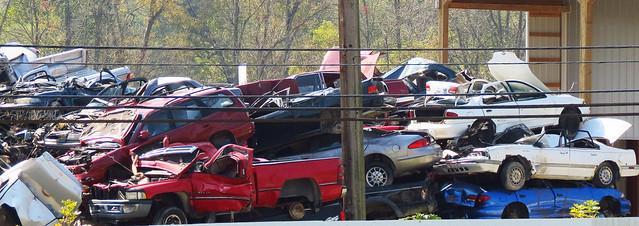 junk junkyard recycling appalachia cargraveyard dok1 natonalroad gournseycountyohio