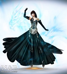 TMV/// Black Dragon (TMV/// Top Model Virtual 2016) Tags: top model secondlife second life mode fashion photo cosplay manga tmv gamer game 3d pics
