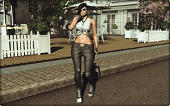 LOOK #19 (Omen Poses / All About Style) Tags: secondlife allaboutstyle fashionblog fashion style clothes valekoer spirit catwahair redgrave tattooed kustim9
