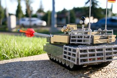 """Cruisin for a bruisin"" (ABS Defence Systems) Tags: vehicle military leopard lego 2a6 tank outdoors vibrant"