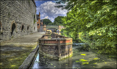 Black Country Canal 6 (Darwinsgift) Tags: black country living museum dudley industrial past birmingham history historical hdr photomatix