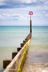 Groyne (Cousin Dirk) Tags: dorset travel travelphotography coast uk southcoast water sea englishchannel groyne beach bournemouthbeach bournemouth