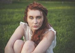 (sarajdsign) Tags: nature nyc staten island boho bohemian chic fashion braids redhair red head beauty sunset photo shoot portrait white dress headshot hair face