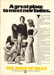 1977 Yellow Pages Advertisement Playboy December 1977 (SenseiAlan) Tags: 1977 yellow pages advertisement playboy december