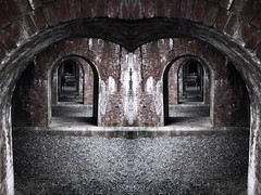 Take A Look At Yourself (Novowyr (Slow)) Tags: kyoto japan aqueduct nanzenji temple people heritage culture mirrored selfie unsuspecting arches arcade redbricks weathered street sony ilce7 carlzeiss fe35mmf28za architecture lakebiwa   selfreflection selfobservation narcism elitegalleryaoi bestcapturesaoi