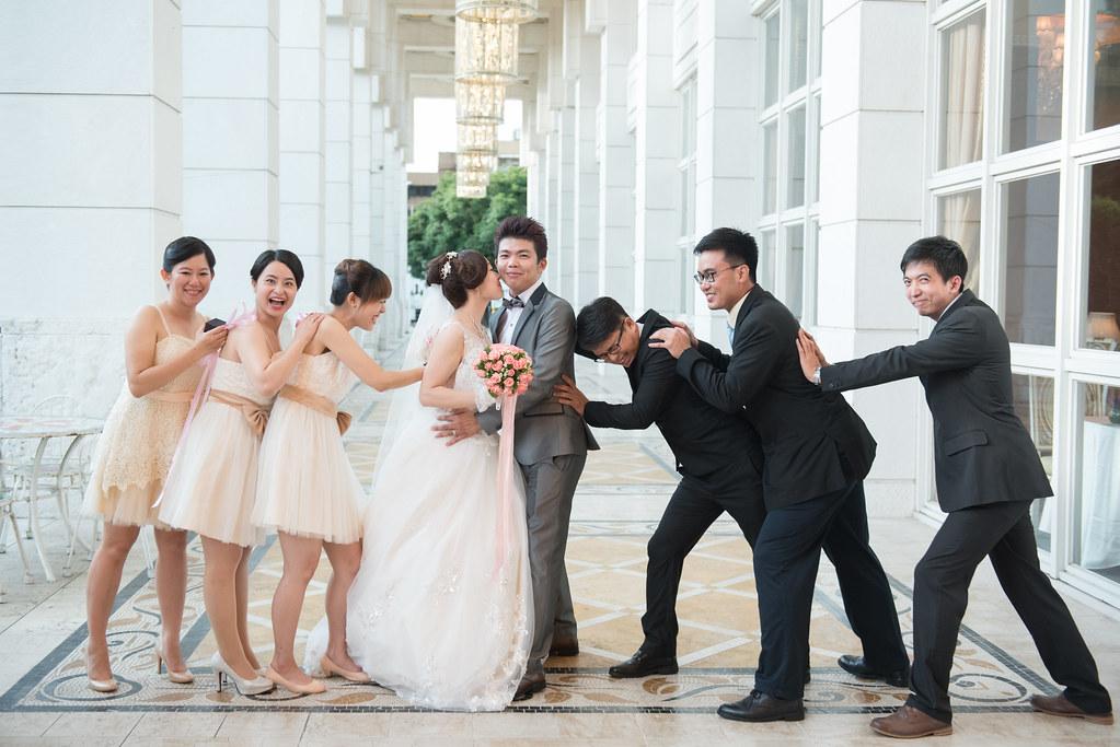 中僑花園飯店婚禮記錄雅琇與紋瑞-79