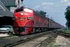 Gulf Mobile & Ohio 103 Dwight IL 9-4-1967 (Frater Operator) Tags: gulfmobileohio passengertrain e7a