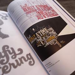 El fan art para mi héroe Martin Scorsese en el primer libro de GoodType