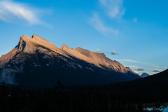 Panorama 10 (Adrian De Lisle) Tags: mountains banff banffnationalpark mountrundle vermilionlakes panorama