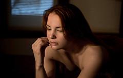 Contemplation (Pete Foley) Tags: model beauty naturallight portrait halfprofile nikond800 overtheexcellence flickrsbest
