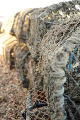 Lobster nets (Ian-83) Tags: nikon d7000 dx 1685mm manfrotto 190xpro3 sea scape landscape seascape