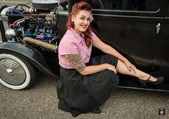 Hot Rod Michelle (@FTW FoToWillem) Tags: tattoo tat tatoe girl tattooed ink inkt carmeet carshow carshoot beauty beautiful belissima bellezze vintage model fotowillem ftw usacarmeet kvinde kvinna kvinne wanita nainen stelpa gadis girltattooed cargirlshoot woman meid babe ragazza noia pige knabino mujer female femme femeie kobieta kona kone portret portrait portet portait portreto pose people rockabilly rockabella rubia gal retrato retro donna flicka bombshell hermosa nikon outdoor willemvernooy badcompanycc sliedrecht holland alternative pinup doll redhair retromodel makeup eyes