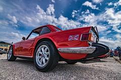 Vintage Triumph TR6. (Mark McGowan Images) Tags: triumphtr6 nikond5500 tokina1116mm