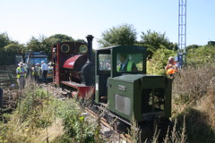 IMG_4919 (Hampton & Kempton Waterworks Railway.) Tags: darent alister arrives loop