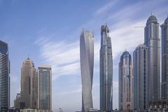 Kayan Tower, Dubai Marina's Jowel Sept-13-16 (Bader Alotaby) Tags: kayan marina dubai nikon d7100 riyadh skyscraper skyline cityscape nightscape ruh photography ksa gcc art architecture leed kafd sunset blue hour amazing 18200 1116 sigma samyang 8mm tokina supertall megatall cma hok kkia dxb uae doh doha qatar bahrain manamah burj khalifah downtown city center modern rafal kempinski hotel flamingo sculpture chicago illinois usa travel summer loop central cta ord ny jfk kfnl kapsarc