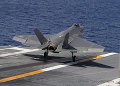 F-35C DT-III testing aboard USS George Washington (JetImagesOnline) Tags: lockheed martin joint strike fighter f35 f35c lightning ii uss george washington dtiii stealth navy variant aircraft carrier cvn73