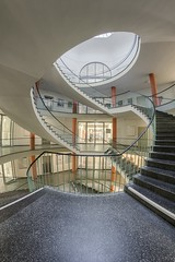 Some Stairs, Dresden 2011 (sureShut) Tags: architektur architecture treppe stairs treppenauge spiraltreppe dresden