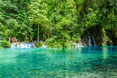 Turquoise Spring at Kawasan (Pipo De Jesus) Tags: 500px water spring waterfalls pool turquoise blue travel river beauty waterfall white canyoneering canyons adventure freshwater fresh badian cebu philippines phl