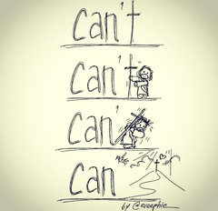 Can't? (13:12 Photography) Tags: positivity morningthoughts begrateful cancan phillipians413 86400seconds cantlove cantforgive cantbelieve