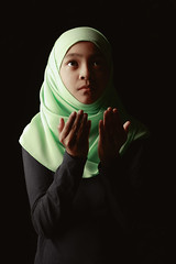 Praying (Patrick Foto ;)) Tags: adorable alone arab arabic asia asian beautiful beauty child childhood colour cultural culture education expression faith female film girl god hand hijab holy islam islamic kid koran learn lesson little malaysia malaysian muslim pray prayer praying pretty quran religion religious scarf school student thailand tone traditional veil vintage white woman worship young