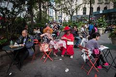the ladies who lunch (zlandr) Tags: heraldsquare street candid garmentdistrict zlandr manhattan chrisfarling nyc newyork newyorkcity city urban