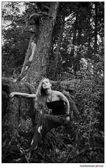 Becky and Trees (nowheremanphotos) Tags: water fashion waterfall earth index elementals fashioneditorialphotography beckyfranklin