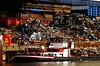 Stahl-Schrott an DEK/Ems zur Aufbereitung bei Benteler Steel/Tube GmbH Stahlwerk; Lingen, Darme (61 b) (Chironius) Tags: emsland germany deutschland niedersachsen allemagne alemania germania германия ems fluss river rivière rio поток fiume stream wasser eems lingen dortmundemskanal dek rost rostig verrostet rust rouille ruggine roest ржавчина herrumbre rusty oxidado industrie stahl maschine